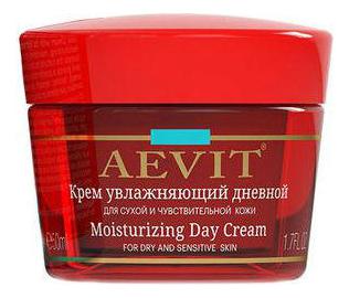Дневной увлажняющий крем для лица Aevit Moisturizing Day Cream 50мл