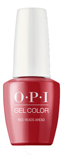 Фото - Гель-лак для ногтей Gel Color 15мл: Red Heads Ahead лак для ногтей 15мл 082 red kiss