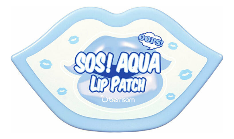 Маска-патч для губ Sos Aqua Lip Patch 30шт