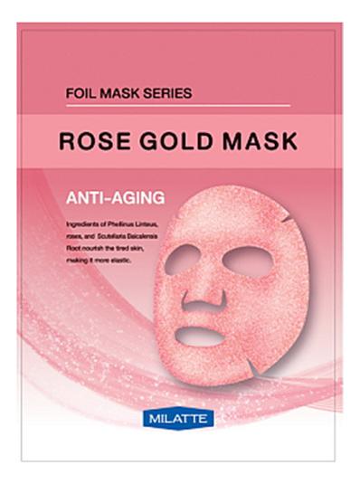 Антивозрастная тканевая маска для лица Rose Gold Mask Anti-Aging 23г антивозрастная тканевая маска для лица rose gold mask anti aging 23г