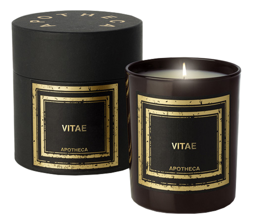 Ароматическая свеча Vitae: свеча 240г ароматическая свеча vitae свеча 240г
