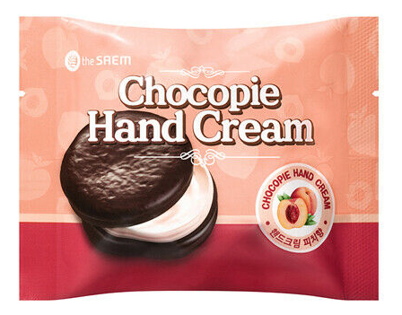 Крем для рук Chocopie Hand Cream Peach 35мл
