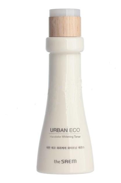 Осветляющий тонер для лица с экстрактом новозеландского льна Urban Eco Harakeke Whitening Toner 180мл недорого