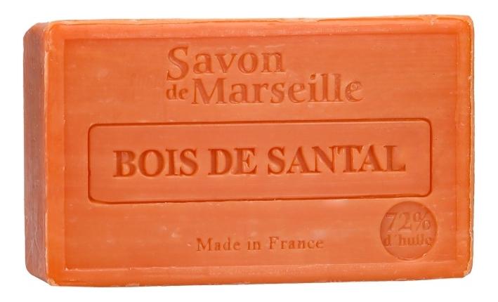 Марсельское мыло Savon De Marseille Bois De Santal 100г цена 2017