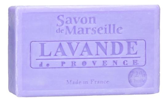 Марсельское мыло Savon De Marseille Lavande De Provence 100г цена 2017