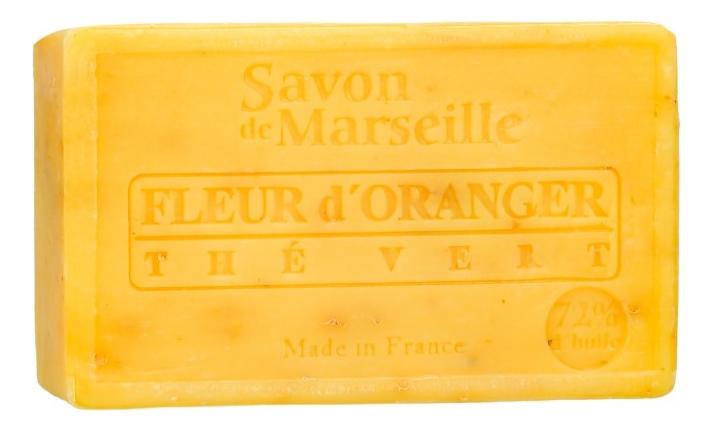 Марсельское мыло Savon De Marseille Fleur D'Oranger The Vert 100г цена 2017