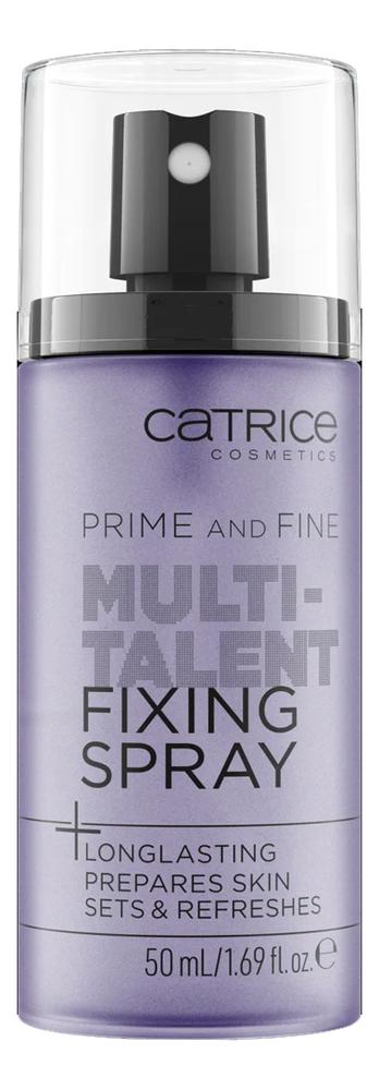 Купить Фиксирующий спрей для макияжа Prime And Fine Multitalent Fixing Spray 50мл, Catrice Cosmetics