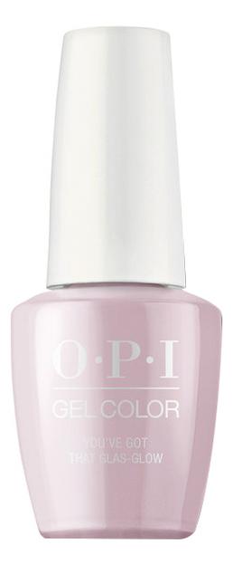Купить Гель-лак для ногтей Gel Color 15мл: You'Ve Got That Glas-Glow, OPI