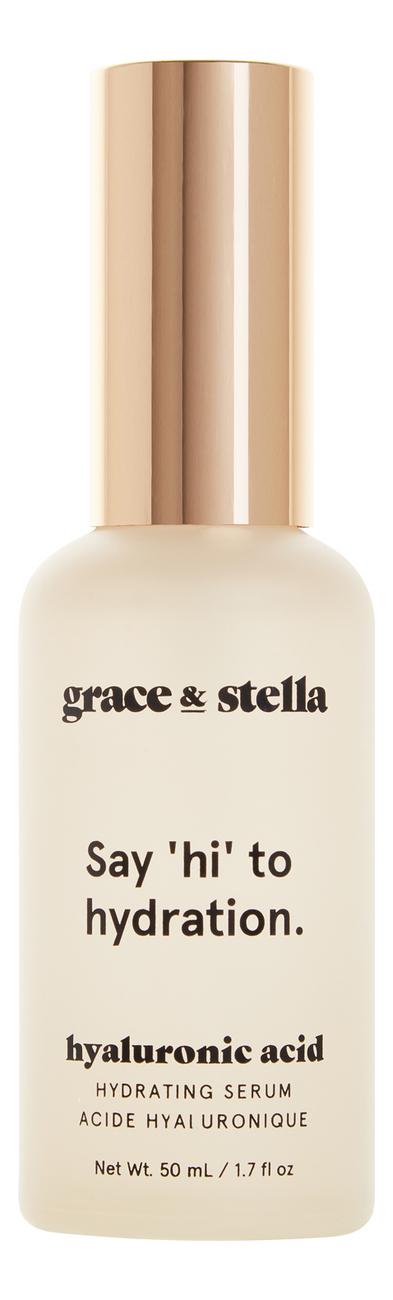 Купить Сыворотка для лица с гиалуроновой кислотой Hyalironic Acid Serum, Grace and Stella