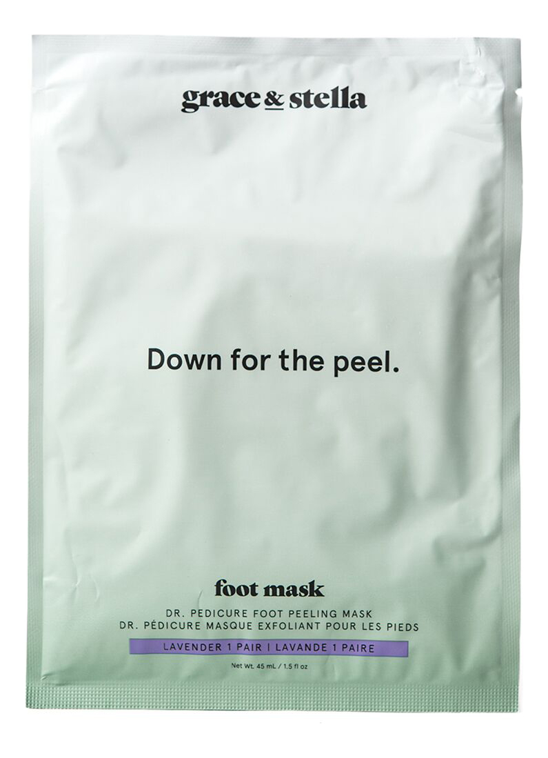 Носочки для педикюра с ароматом лаванды Dr. Pedicure Lavender: 1 пара (саше) фото
