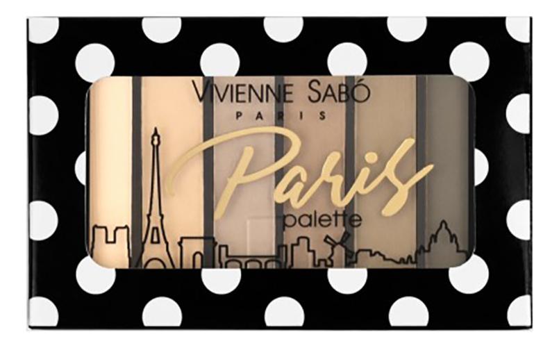 Палетка теней для век Eyeshadow Palette Mini Paris: No 01 палетка теней для век eyeshadow palette mini paris no 03