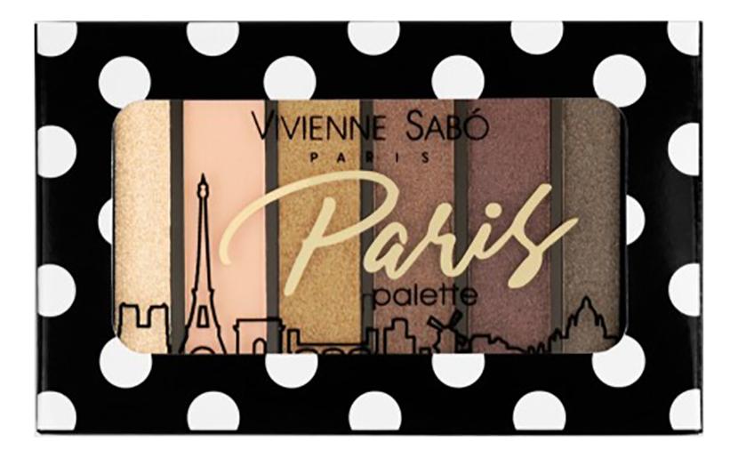 Палетка теней для век Eyeshadow Palette Mini Paris: No 02 палетка теней для век eyeshadow palette mini paris no 03