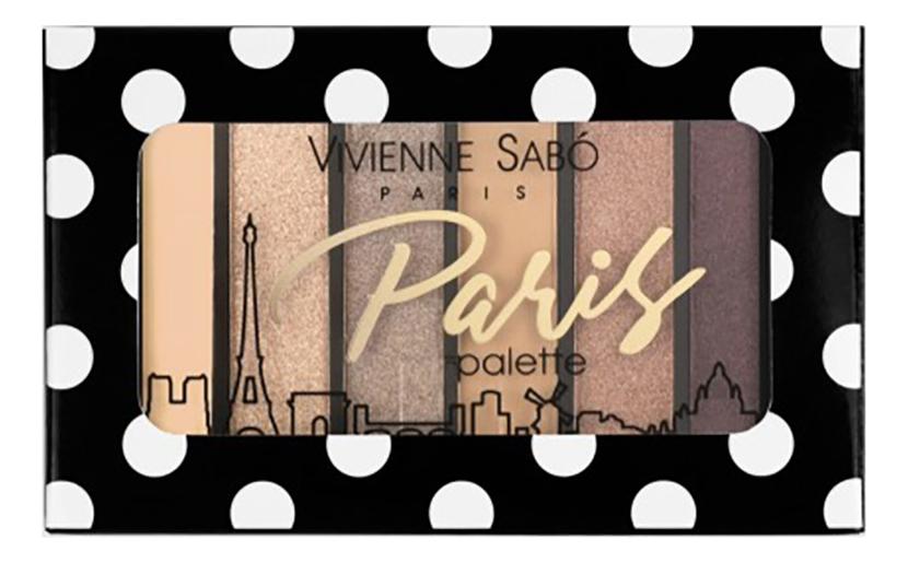 Палетка теней для век Eyeshadow Palette Mini Paris: No 03 палетка теней для век eyeshadow palette mini paris no 03