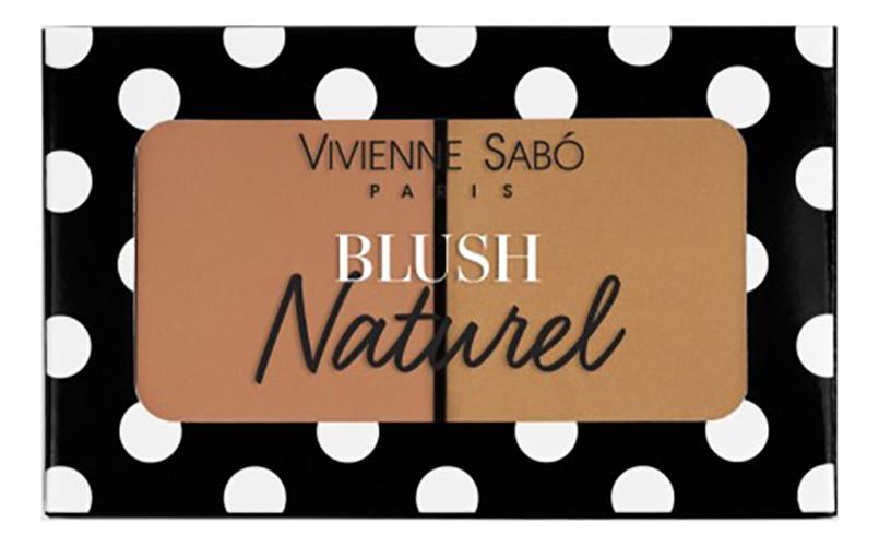 Румяна двойные Blush Duo Naturel: No 01