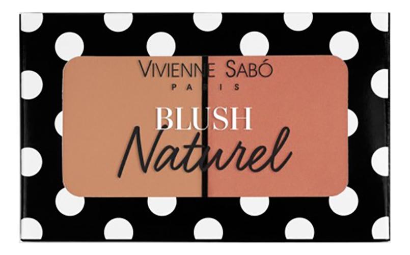 Купить Румяна двойные Blush Duo Naturel: No 04, Vivienne Sabo