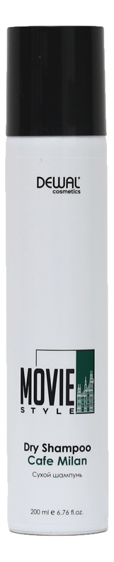 Сухой шампунь для волос Movie Style Dry shampoo Cafe Milan 200мл
