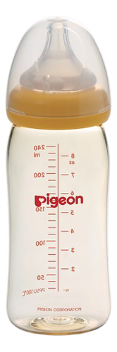 Бутылочка для кормления SofTouch Peristaltic Plus 240мл (3+ мес) бутылочки pigeon для кормления ежик softouch peristaltic plus 0 мес 160 мл