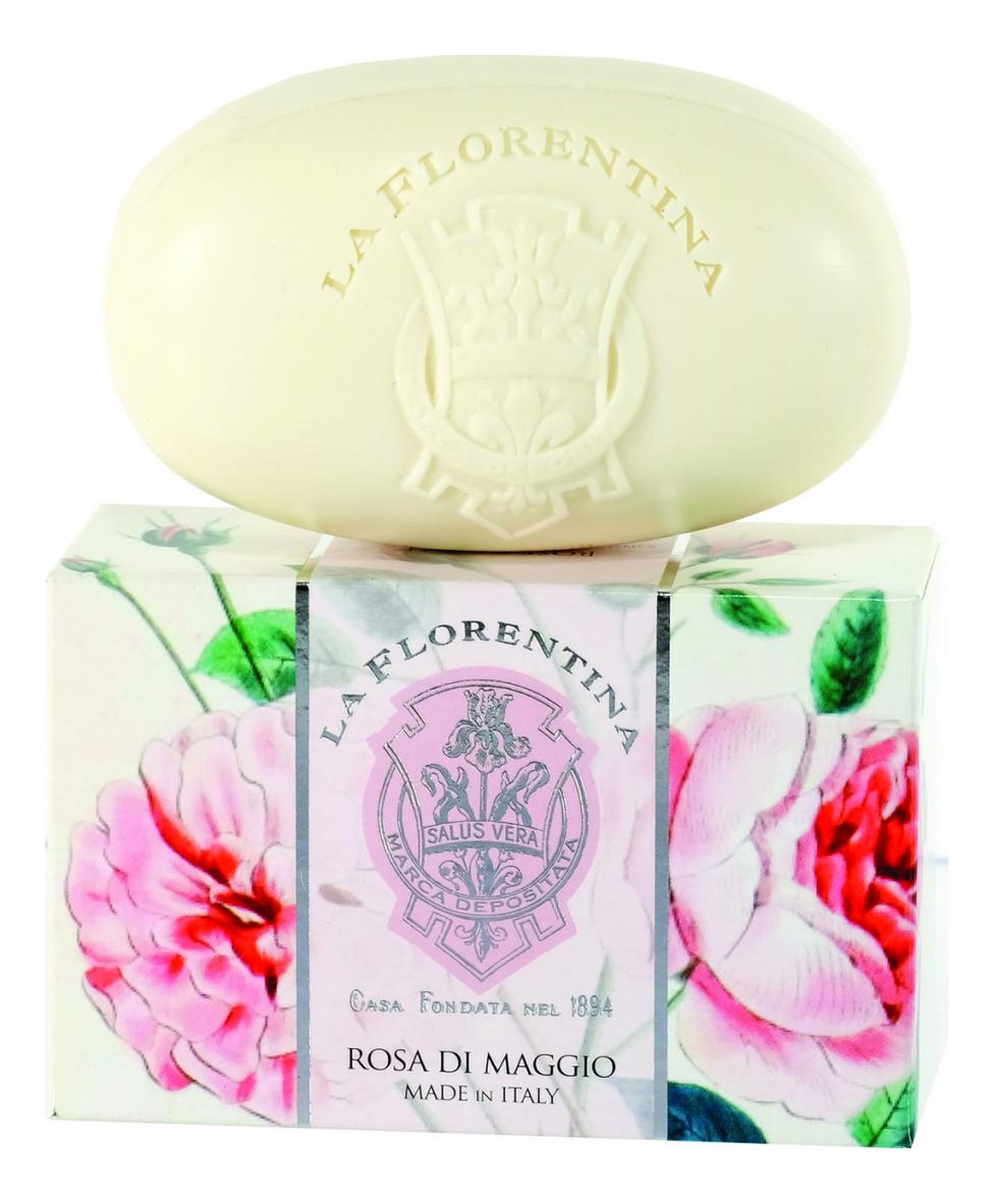 Купить Мыло Rosa Di Maggio Saponetta: Мыло 300г, La Florentina