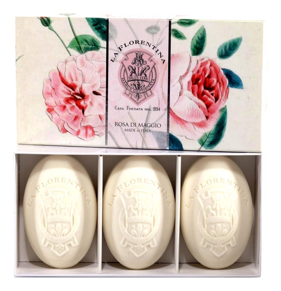 Купить Мыло Rosa Di Maggio Saponetta 3*150г, La Florentina