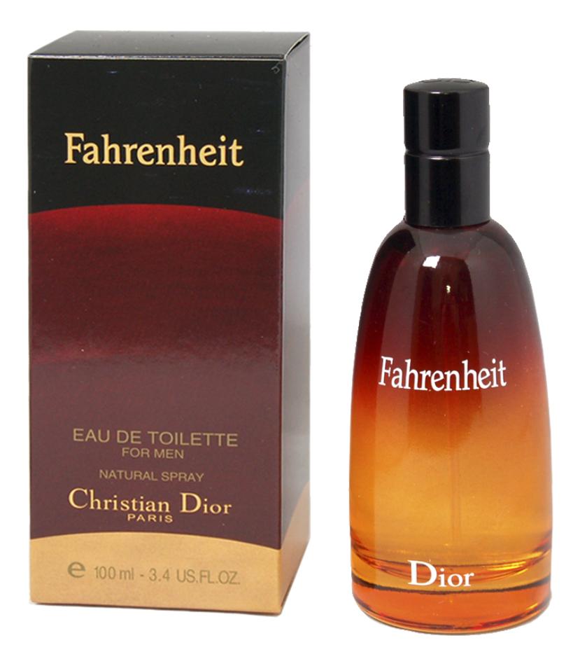Christian Dior Fahrenheit: туалетная вода 100мл винтаж christian dior fahrenheit absolute туалетная вода тестер 100 мл