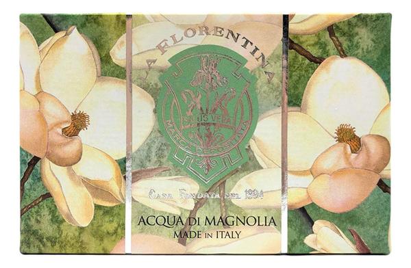 Купить Мыло Acqua Di Magnolia Saponetta: Мыло 300г, La Florentina