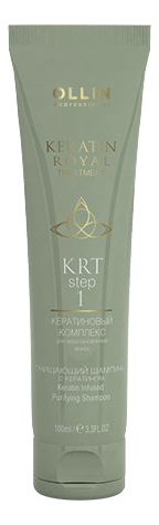 Очищающий шампунь с кератином Keratin Royal Treatment Infused Purifying Shampoo 100мл