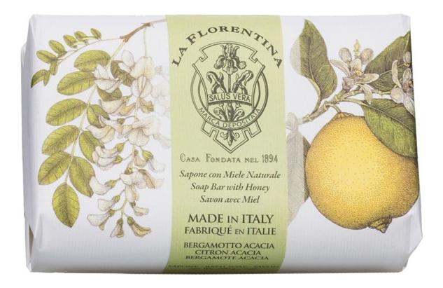 Мыло Acacia Bergamotto Saponetta: 200г