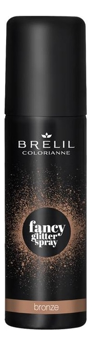 Фото - Спрей для волос Colorianne Fancy Glitter Spray 75мл: Bronze спрей для укладки волос impermeable anti humidity spray спрей 75мл
