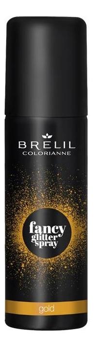 Спрей для волос Colorianne Fancy Glitter Spray 75мл: Gold