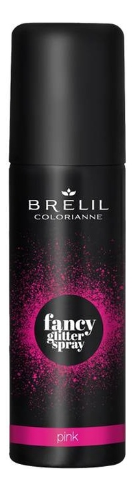 Спрей для волос Colorianne Fancy Glitter Spray 75мл: Pink