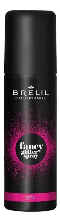 Фото - Спрей для волос Colorianne Fancy Glitter Spray 75мл: Pink спрей для укладки волос impermeable anti humidity spray спрей 75мл