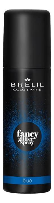 Спрей для волос Colorianne Fancy Glitter Spray 75мл: Blue