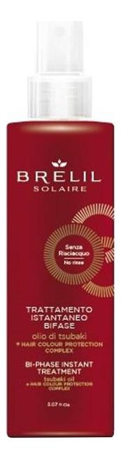 Двухфазный бальзам для волос мгновенного действия Solair Bi-Phase Instant Treatment 150мл brelil professional двухфазный увлажняющий бальзам hydra balsamo bifase 150 мл