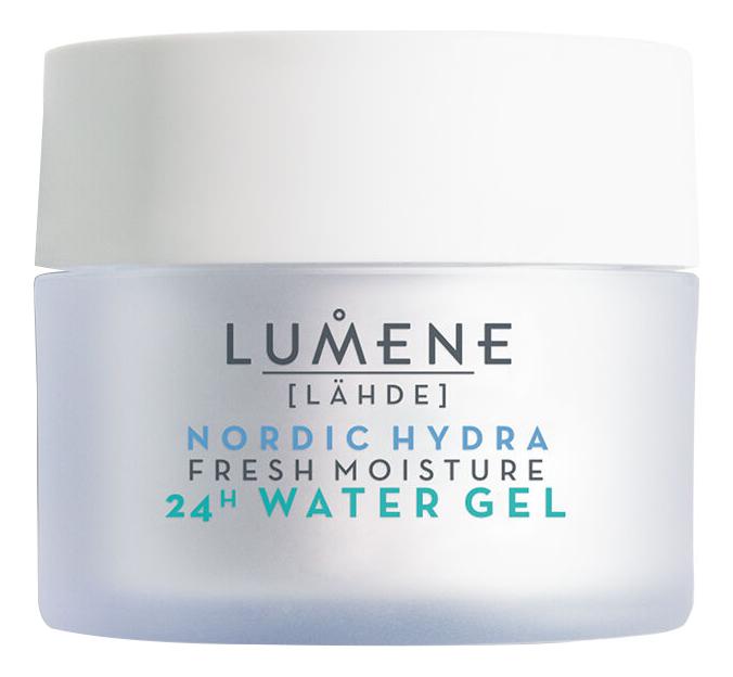 Купить Аква-гель для лица Nordic Hydra Fresh Moicture 24H Water Gel 50мл, Lumene