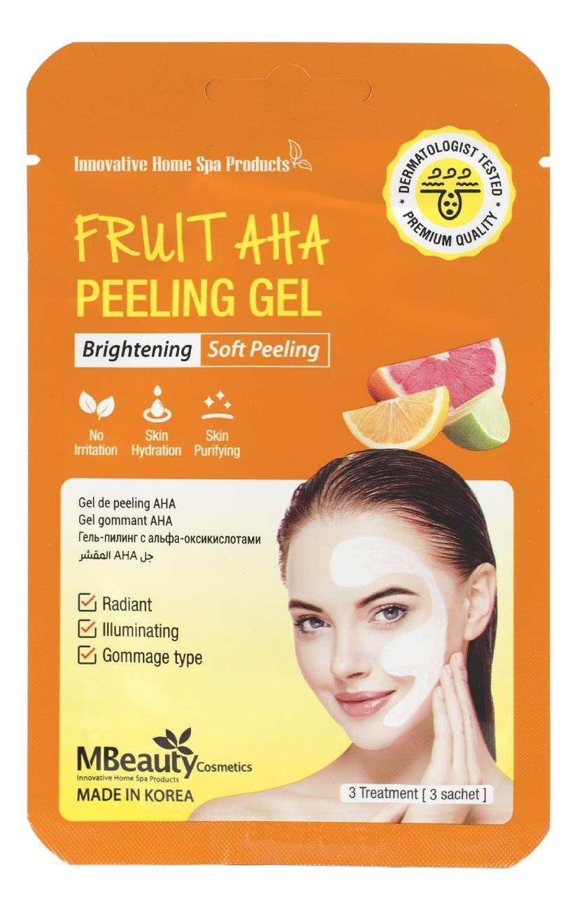 Отшелушивающий гель для лица с AHA-кислотами Fruit AHA Peeling Gel 3*7г