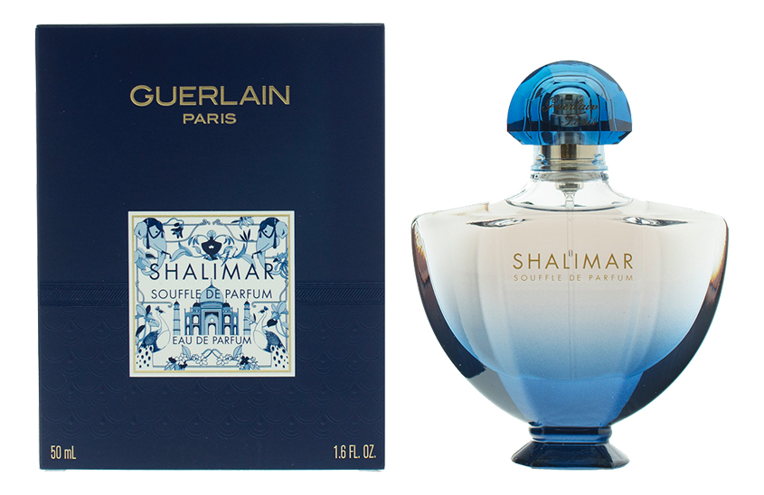 Guerlain Shalimar Souffle De Parfum: парфюмерная вода 50мл (новый дизайн) фото