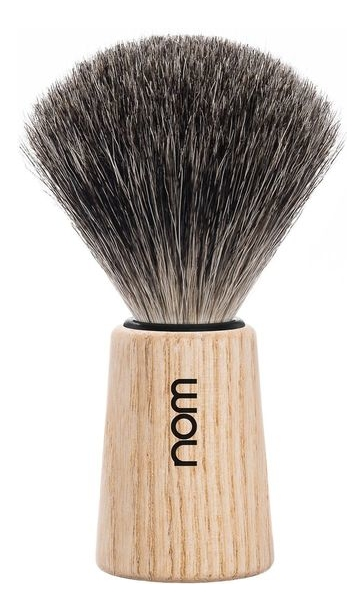 Фото - Помазок натуральный барсучий ворс Nom Theo (ясень) помазок omega 618 барсучий ворс