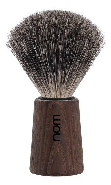 Купить Помазок натуральный барсучий ворс Nom Theo (темный ясень), Muehle