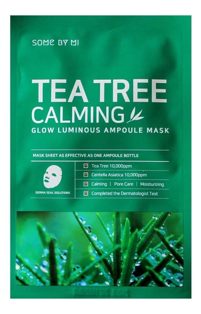 Ампульная тканевая маска для лица Tea Tree Calming Glow Luminous Ampoule Mask 25мл