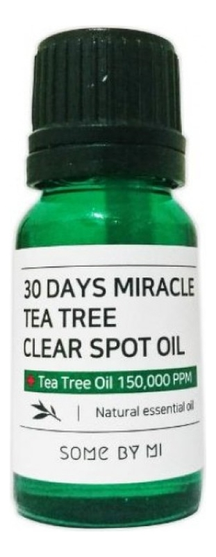 Масло чайного дерева для проблемной кожи лица 30 Days Miracle Tea Tree Clear Spot Oil 10мл