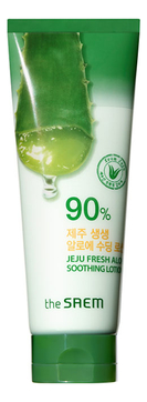 Лосьон для тела с алоэ Jeju Fresh Aloe Soothing Lotion 90% 250мл
