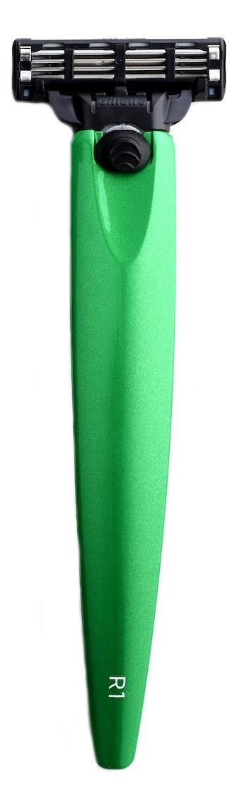 Купить Бритва R1 Gillette Mach3 (зеленый металлик), Bolin Webb
