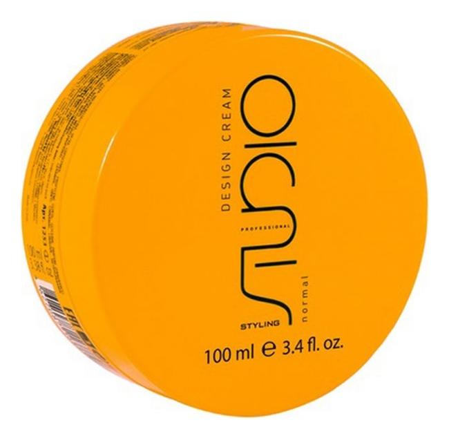 Моделирующие сливки для укладки волос нормальной фиксации Studio Design Cream 100мл