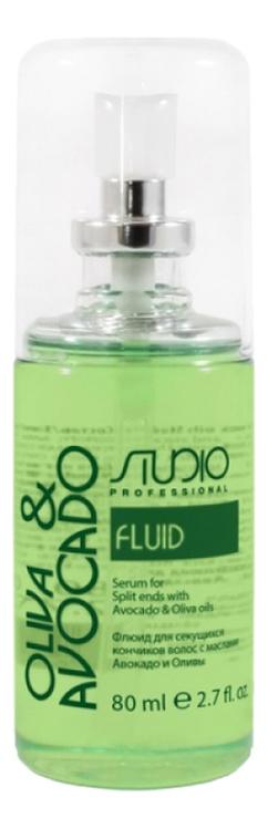 Купить Флюид для секущихся кончиков волос с маслами авокадо и оливы Olive & Avocado 80мл, Флюид для секущихся кончиков волос с маслами авокадо и оливы Olive & Avocado 80мл, Kapous Professional