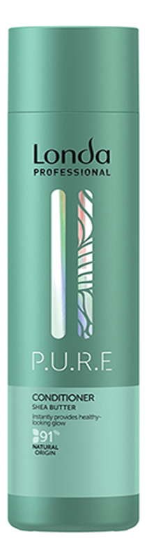 Купить Кондиционер для волос P.U.R.E Shea Butter Conditioner: Кондиционер 250мл, Londa Professional