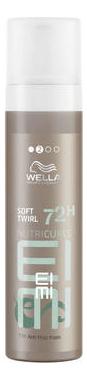 Мусс для моделирования вьющихся волос Nutricurls EIMI Soft Twirl 72H Anti Frizz Foam 200мл