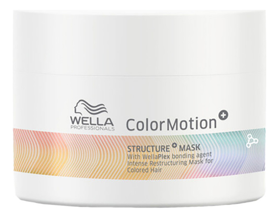 Маска для интенсивного восстановления окрашенных волос Color Motion+ Structure Mask: Маска 500мл wella professionals color motion structure intense restructuring mask for colored hair