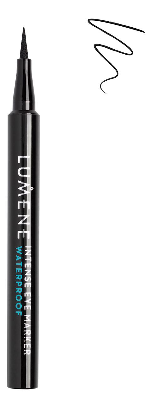 Интенсивный водостойкий маркер для век Intense Eye Marker Waterproof 1,1мл: Черный alex alex игрушка для купания транспорт 4 фигурки