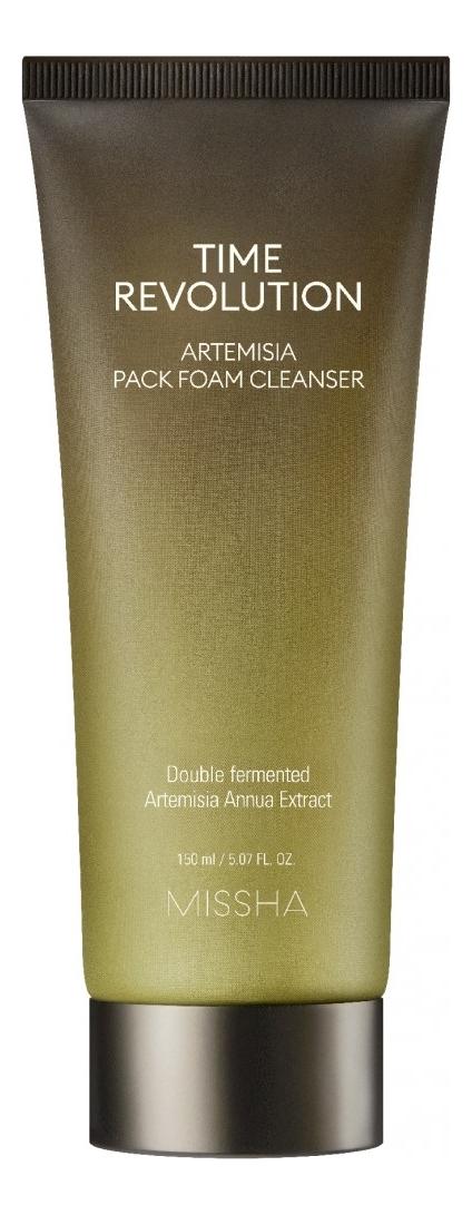 Очищающая маска-пенка для лица Time Revolution Artemisia Pack Foam Cleanser 150мл anna banti artemisia