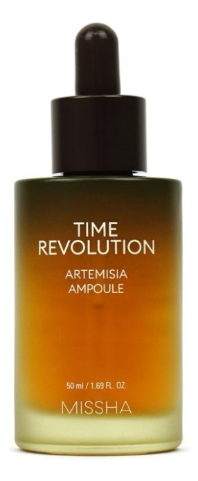 Сыворотка для лица Time Revolution Artemisia Ampoule 50мл anna banti artemisia